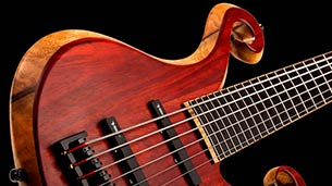 Xylem 6 String Bass Solo - Villex Pickups, Delay, Tapping