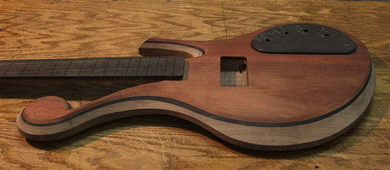 Four String Bass Build - Claypool Design, EMG-DC Pickup