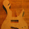 Flamed maple 5 string custom bass body