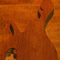 Mahogany core of a 5 string custom bass body