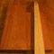 Mahogany body blank and maple neck blank for a 5 string custom bass