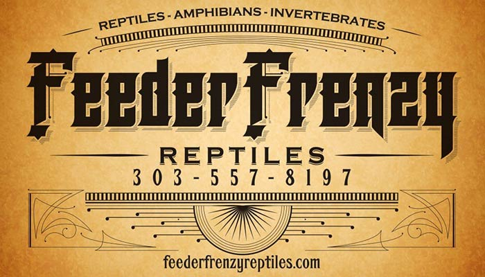 Feeder Frenzy Reptiles, an exotic pet store in Arvada, CO