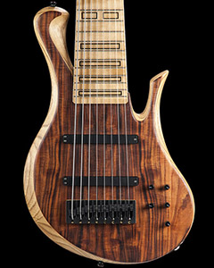 8-string custom bass guitar with Delano preamp
