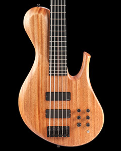 Sub-contra bass guitar with GraphTech Ghost piezo Saddles
