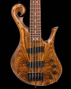 5-string custom bass, for sale at Chicago Music Exchange