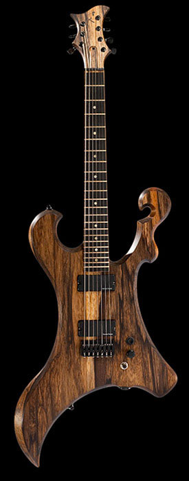 Xylem black limba custom 7 string guitar with a killswitch, Seymour Duncan Blackouts and Hipshot hardware