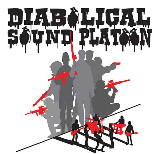 Diabolical Sound Platoon, Hip Hop band logo