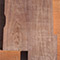 Black walnut core of a custom guitar body blank