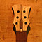 Custom guitar neck with limba headstock and pau ferro fretboard