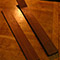 Black walnut guitar neck and pau ferro fretboard