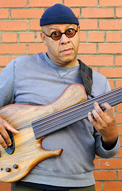 Mark Smith, Fretless Bassist from Denver, plays the Austra Xylem bass