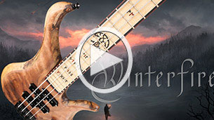 Metal bass video from British metal band Winterfire